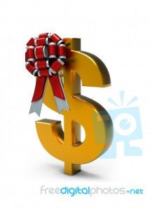 ribbon-bow-on-dollar-sign-